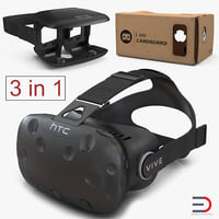 virtual reality goggles 2 3D model