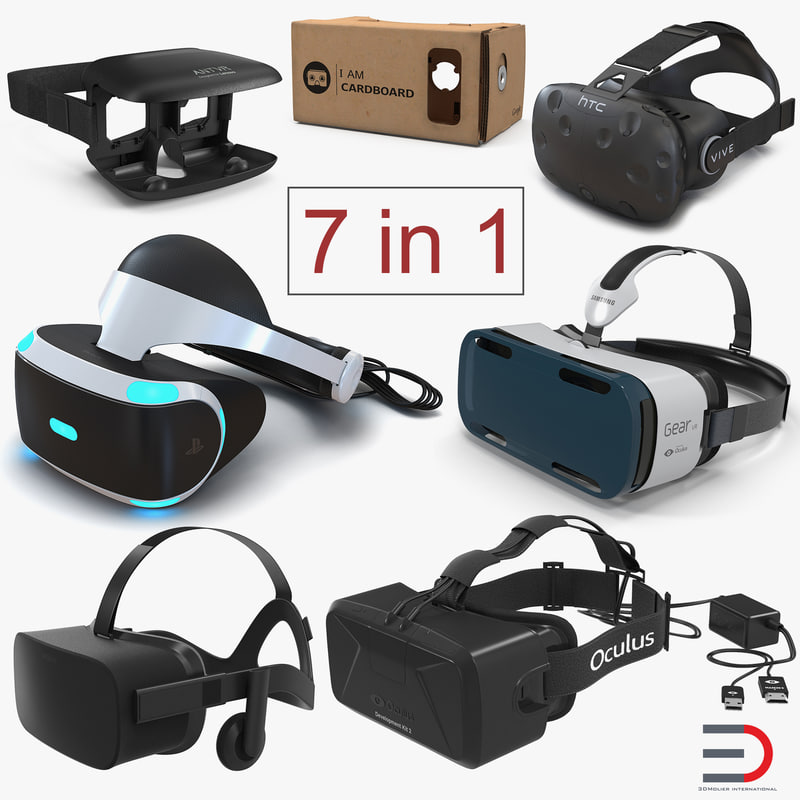 3D virtual reality goggles 3