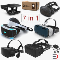 Virtual Reality Goggles Collection 3