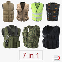vests 3 3D