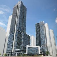 Hullmark_centre_Toronto_lowpoly