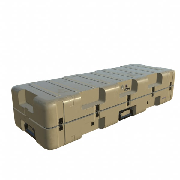 3D model military case