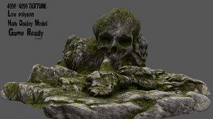 skull cave 3D
