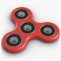 fidget spinner 3D model