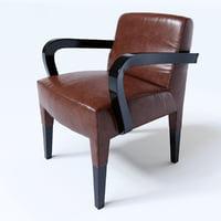 3D promemoria brigitta short chair