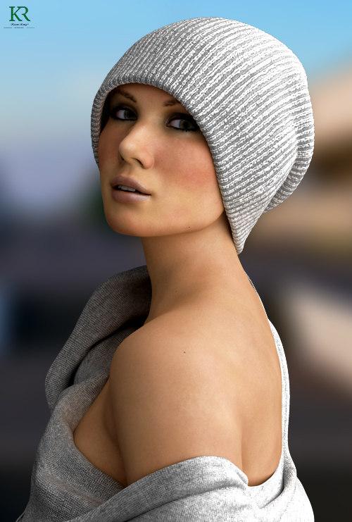 3D women photorealstic