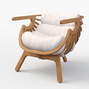 shell chair branca lisboa model