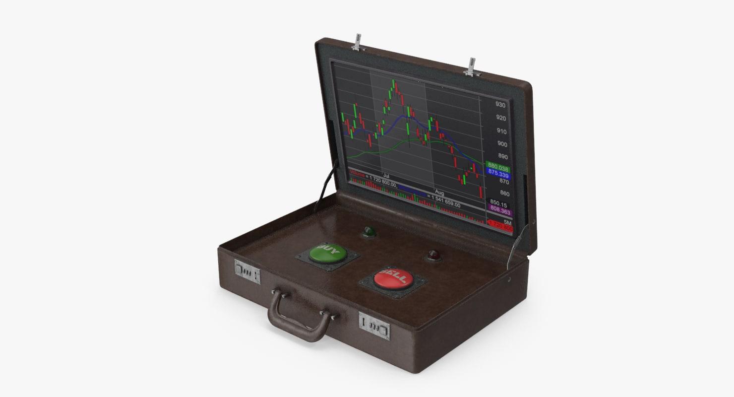 briefcase trade 3D model
