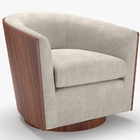 3D swivel luther chairs