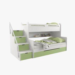 3D model bed bms group 3
