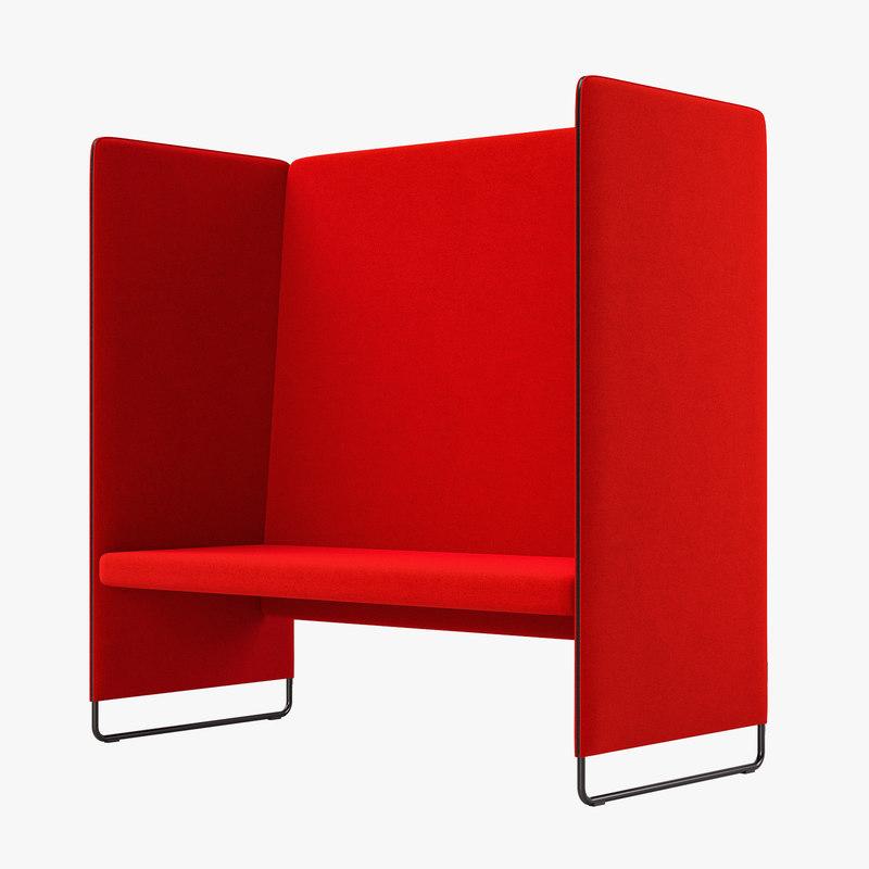 3D sofa zippo