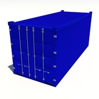 20ft Container Blue