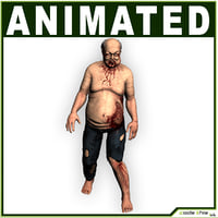 3D model animations