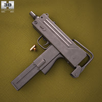 ingram mac-10 mac 3D model