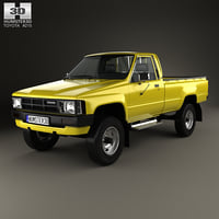 Toyota Hilux DX Long Body 1983