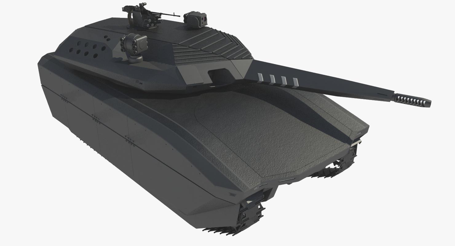 3D model modern tank pl-01