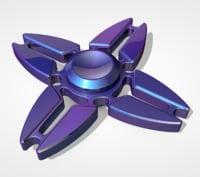 metal spinner model