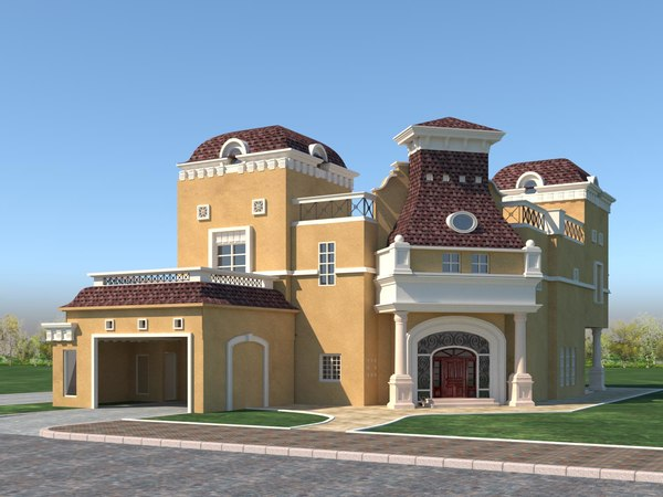 victorian house 3D