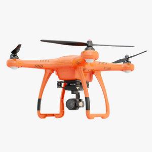 3D autel robotics x-star drone