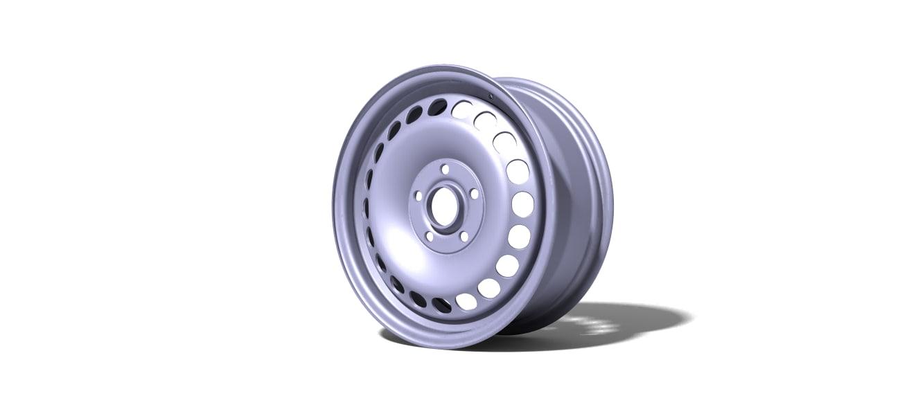 rim plate 15 3D