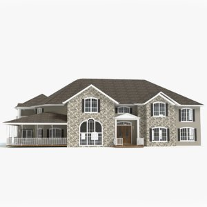 lakehouse porch deck model
