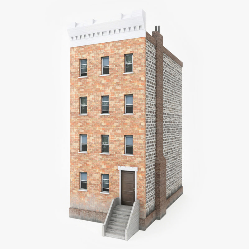 Apartment building 3d turbosquid 1169546 for Apartment 3d model