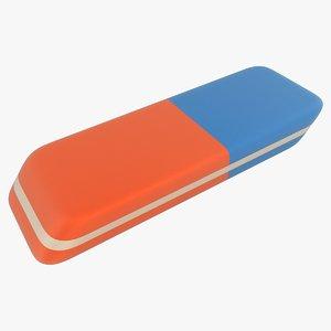 realistic eraser model
