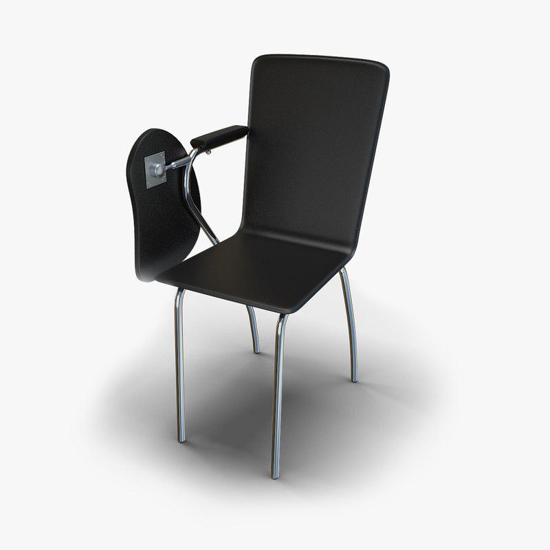 3D chair class room model