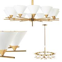 3D cleo large chandelier