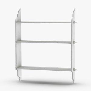 wall-shelf-02 3D model