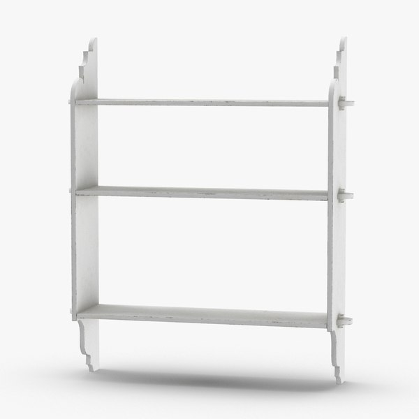 wall-shelf-02 3D model
