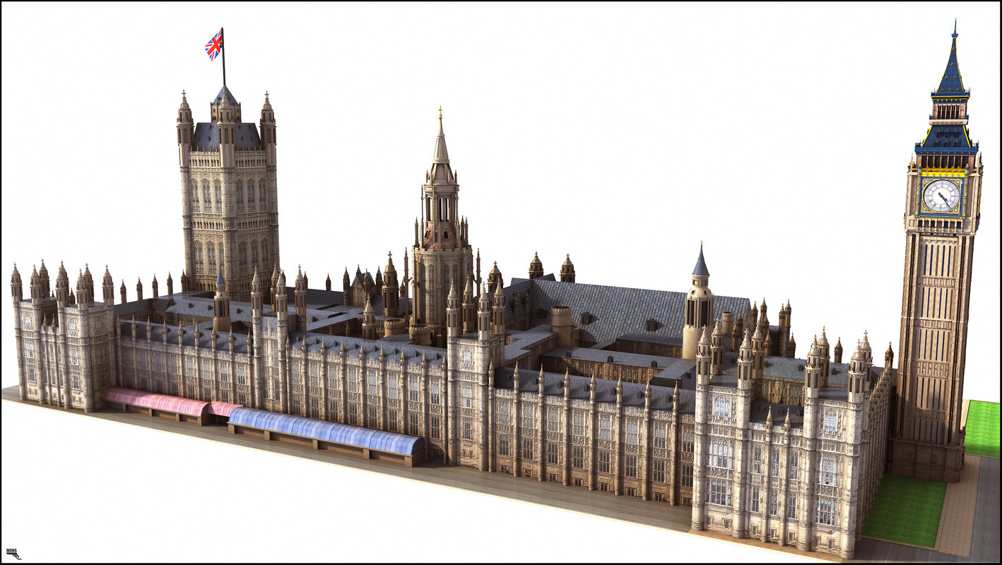 london house 3D model
