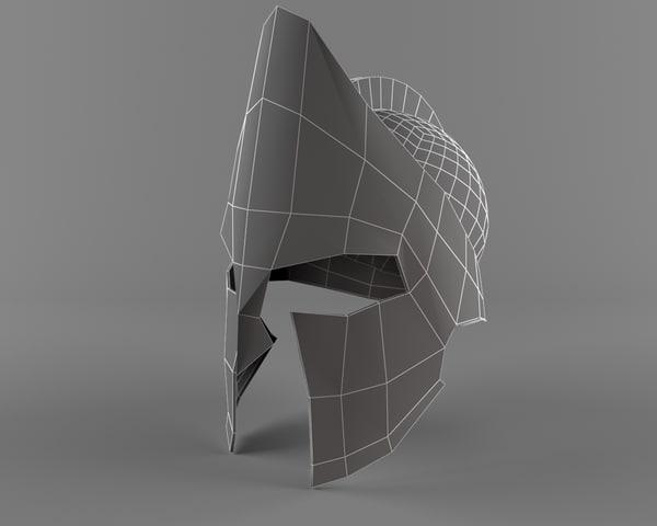 spartak helmet 3D