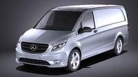 Mercedes-Benz Vito PanelVan 2017 VRAY