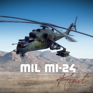 mil mi-24 attack helicopter model