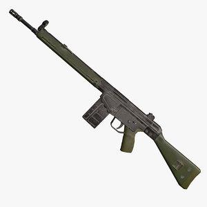 g3 g3a3 assault 3D model