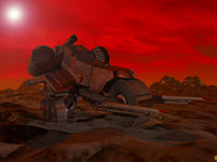 mars buggy 3D