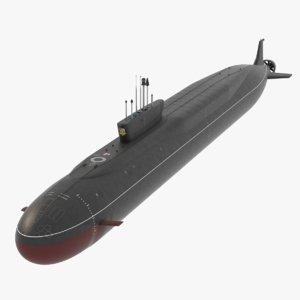 3D k-551 955 borei class