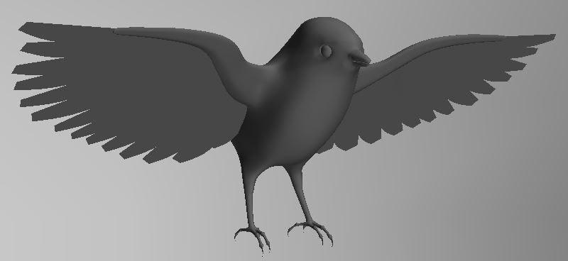 basic bird 3D