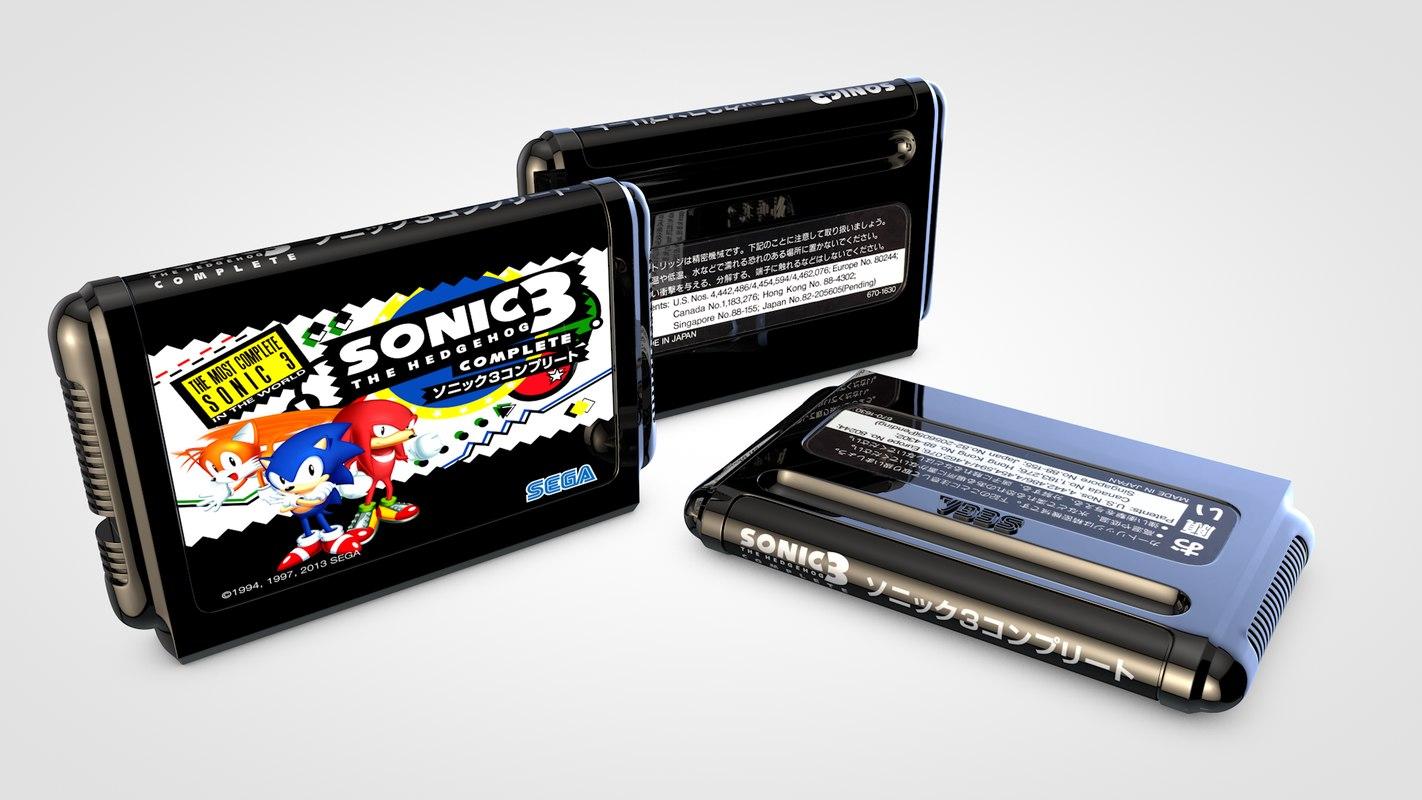 Mega Drive Cartridge