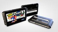 mega drive cartridge 3D model