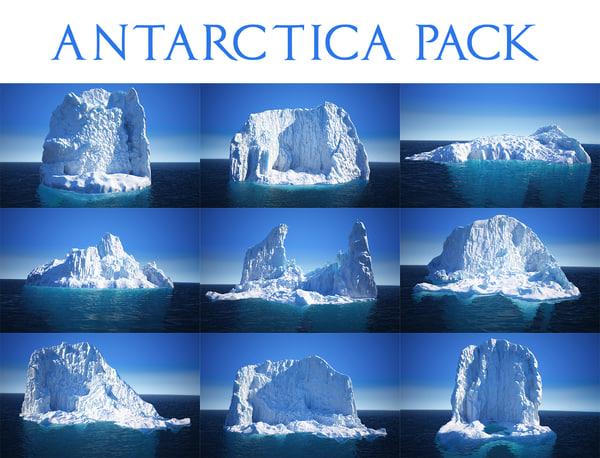 3D antarctica pack 9