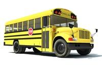 3D school bus