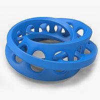 3D solid manifold printing model