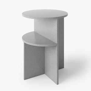 muuto halves table 3D model