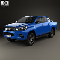 3D toyota hilux double model