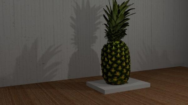 pineapple stl 3D model