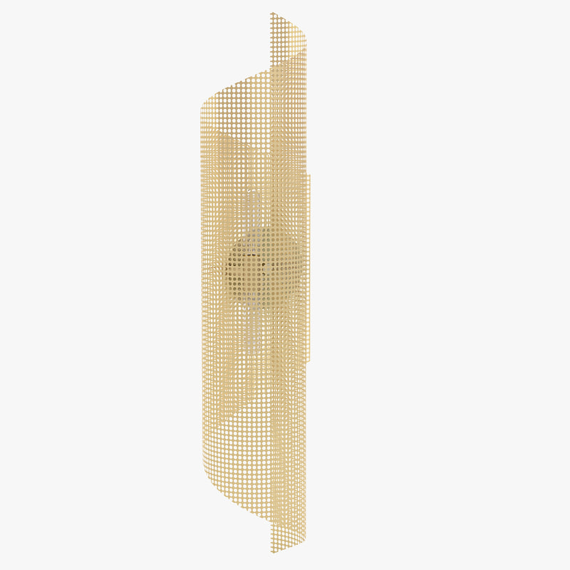 3D model lawson-fenning rolled perforated sconce