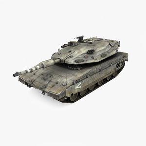 3D main tank merkava