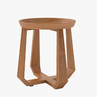 kampe table 3D model